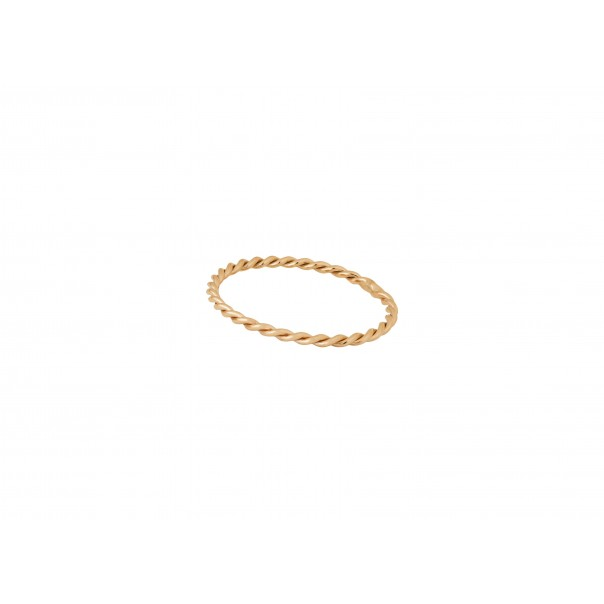 "Yellow gold plain band ""Unique"""