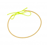 Yellow gold Bangle bracelet ¾