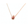 """Yellow gold necklace """"EFFORTLESSLY"""""""