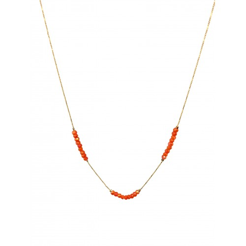 Collier JANE corail