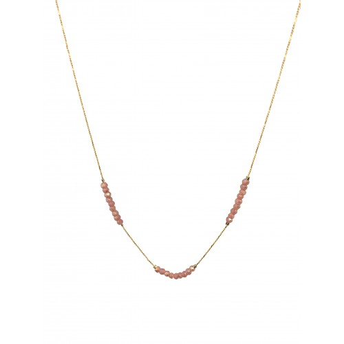 Collier JANE rose pale