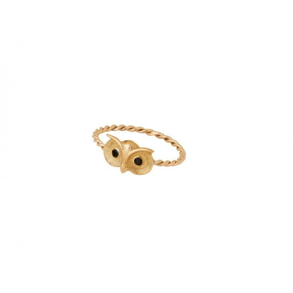 "Yellow gold ring ""TERWIT TERWOO"""