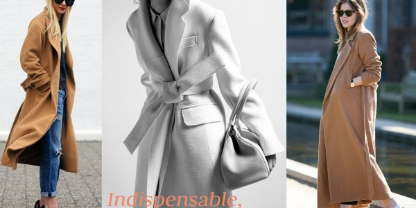 Indispensable, le manteau long.